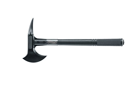 WALTHER Camping Axt Tomahawk, Schwarz, One...