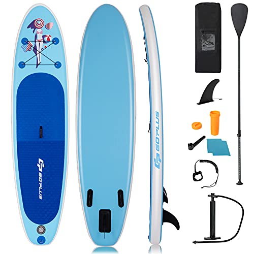 COSTWAY 305 x 76 x 15cm Stand Up Paddling...
