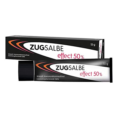 Infectopharm Zugsalbe effect 50%, 15 g Salbe