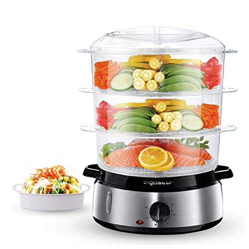 Aigostar Fitfoodie Steel 30INA - Dampfgarer...