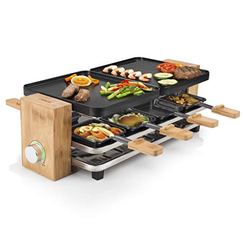 Princess Raclette Grill in Bambusausführung...