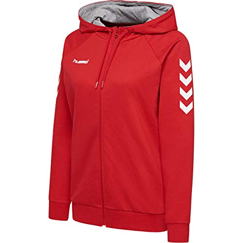 Hummel Damen, Female HMLGO Cotton Zip Hoodie...