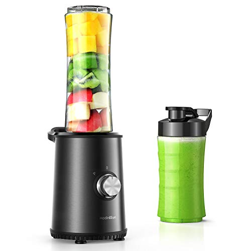 HadinEEon Smoothie Mixer mit 3 Modus,Mini...