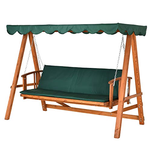Outsunny® Hollywoodschaukel mit Sonnendach...