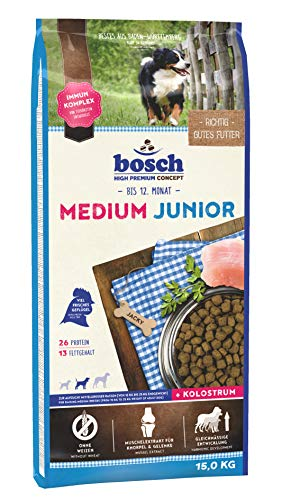 bosch HPC Medium Junior | Hundetrockenfutter...