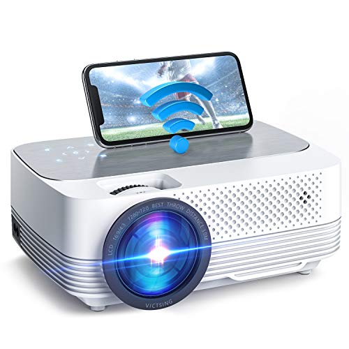 Mini Beamer WiFi 6000 Lumen,Native 720P...
