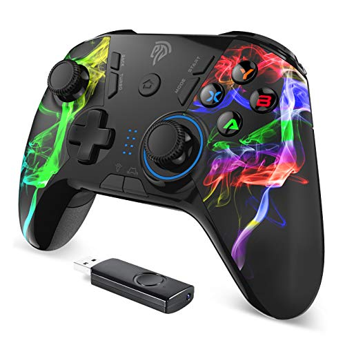 EasySMX PS3 Controller, 2.4G Wireless...