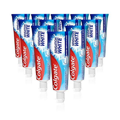 Colgate Zahnpasta Sensation White, 12 x 75 ml...