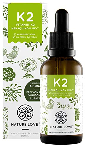 NATURE LOVE® Vitamin K2 MK-7-200µg (50ml...
