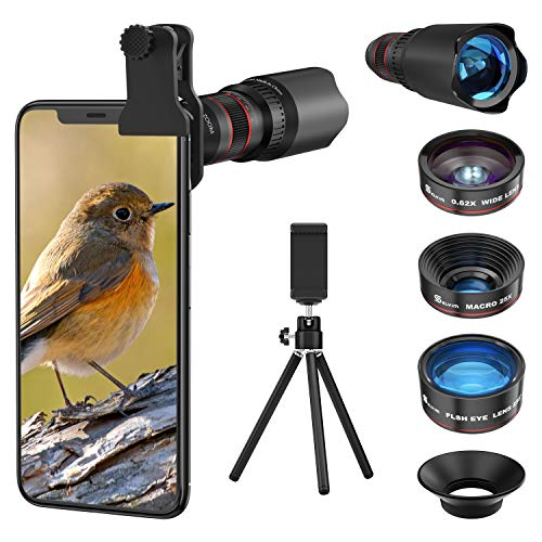 Handy Objektiv Linse Kit, Lens Set 22X...