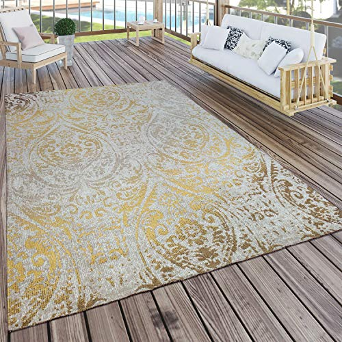 Paco Home In- & Outdoor Teppich Modern Shabby...